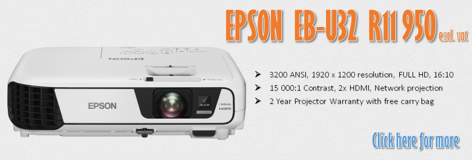 epson projector techsonic eb-u32